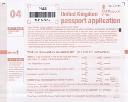 How To Fill Out A Passport Application Form