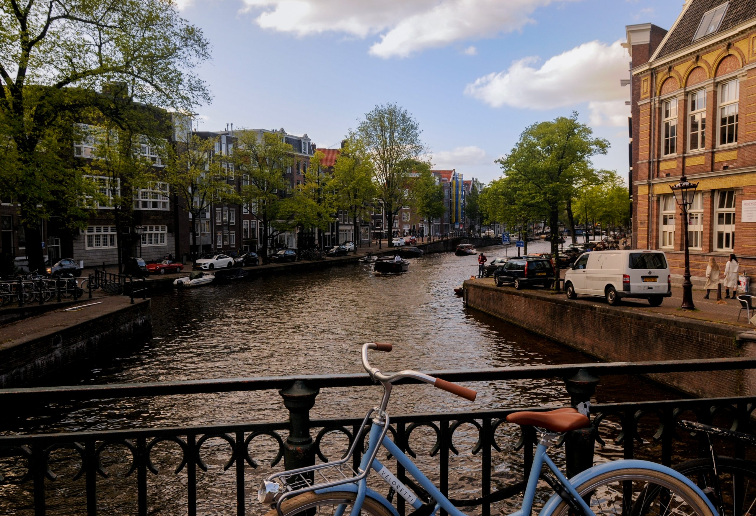 Amsterdam canal and bike Submission support Passport
