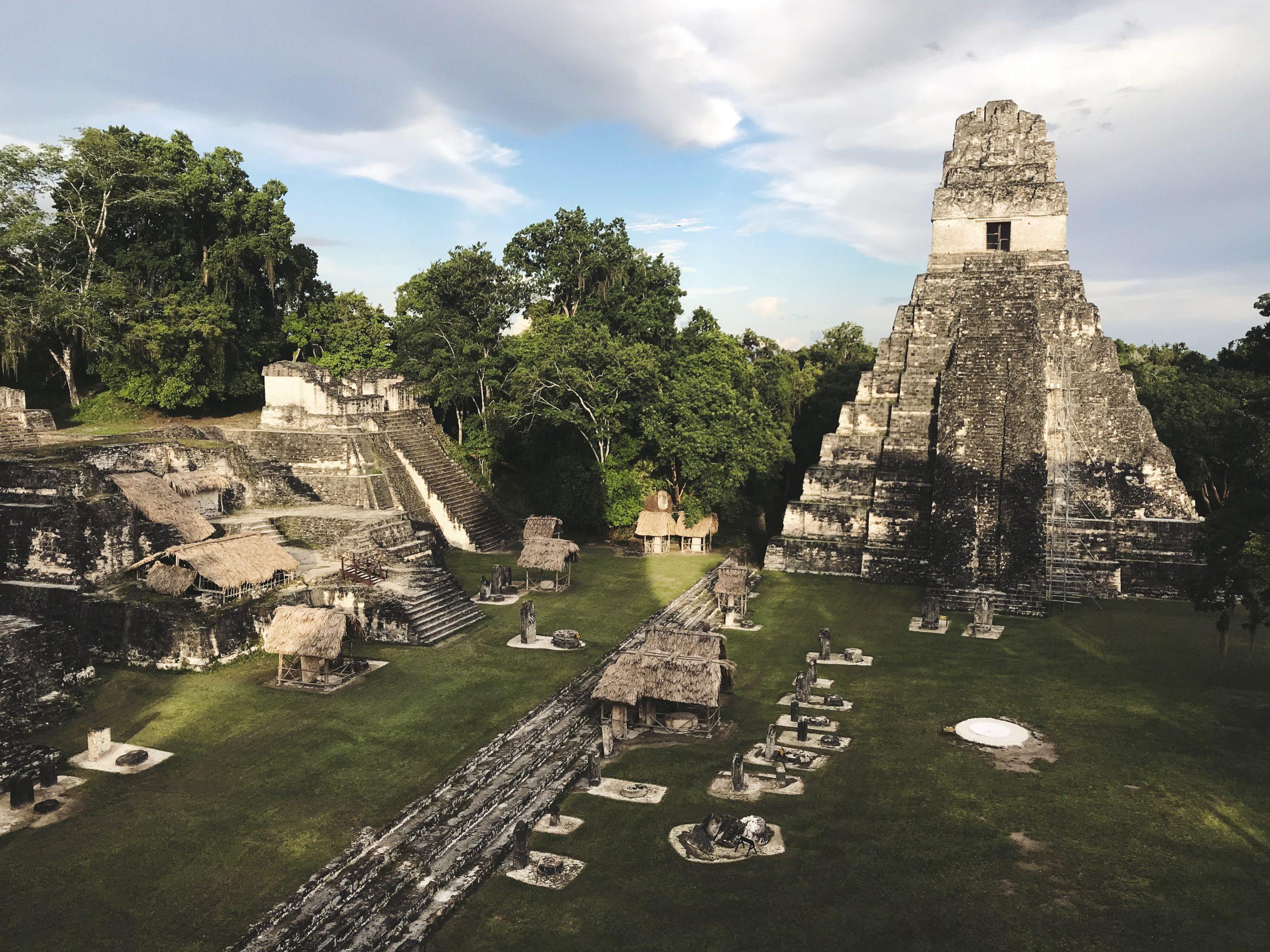 Temple of the Jaguar Guatemala passport