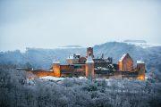 Luxembourg castle snow passport travel