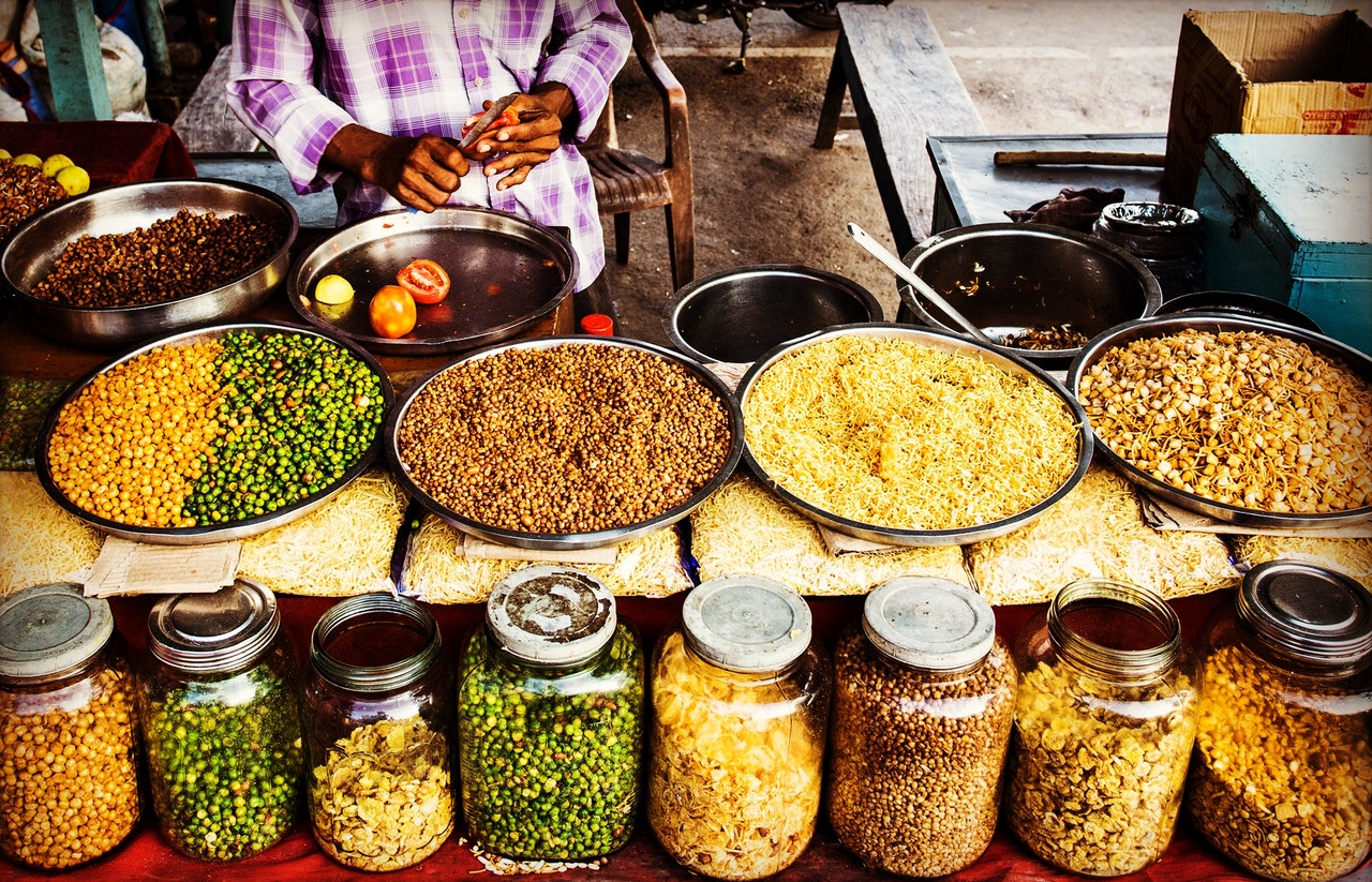 India Food Colours Visit Travel
