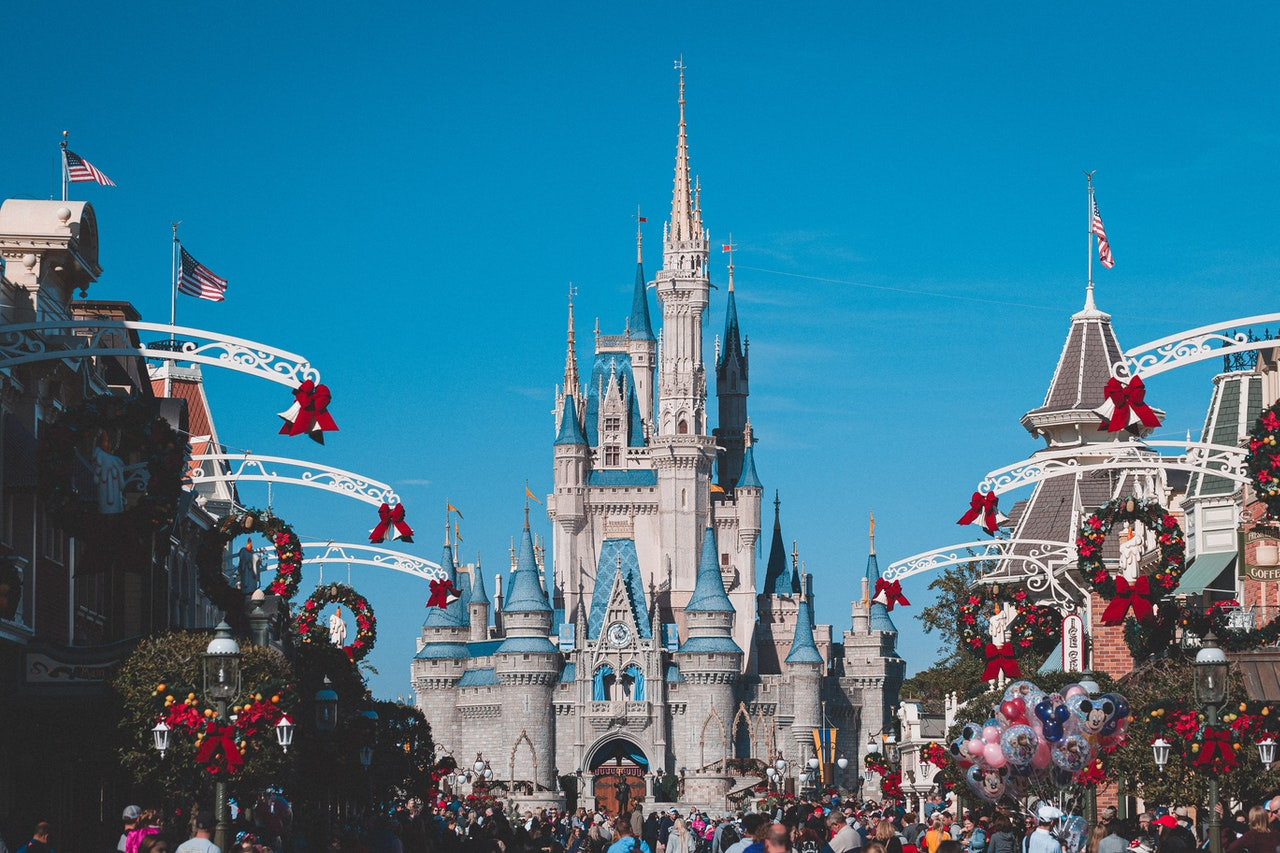 Disneyland park visit passport country
